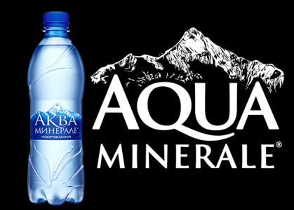 Аква минерале 0,6 литра (газ)
